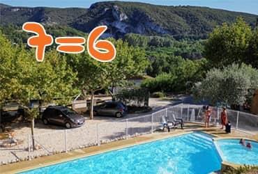 camping pas cher avec piscine en Ardèche