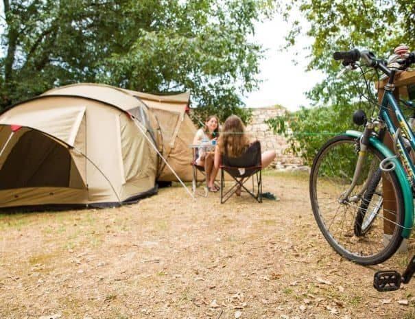 camping in Vallon Pont d'Arc Le Vieux Vallon