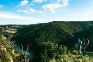 faire randonnée camping le Vieux Vallon camping Ardèche