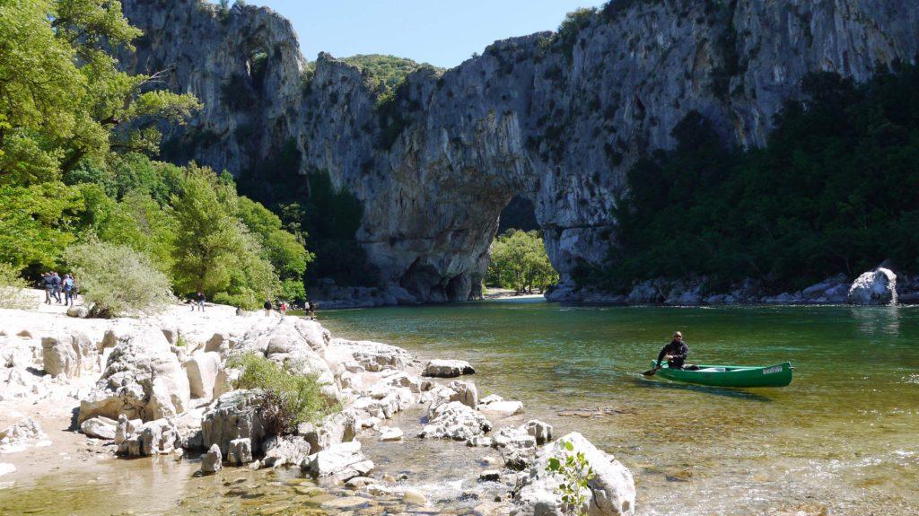 Pont d'Arc aval Gorges de l'Ardèche